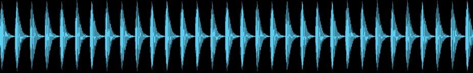 Tech House Drum Loop 1 128 BPM stock footage