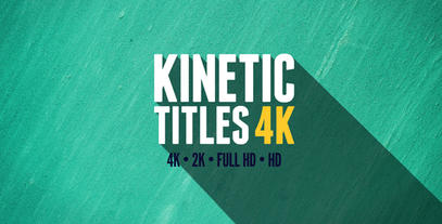 Top 3 Kinetic Text AE Templates