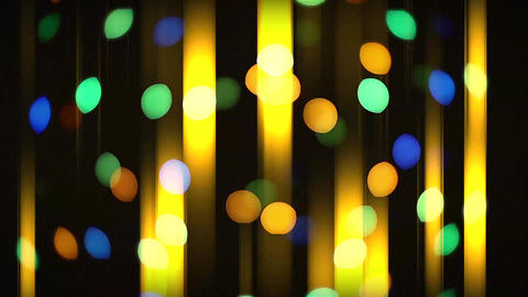 Defocused ligths of Christmas tree. christmas bokeh light abstract holiday Animation