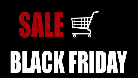 Sale Black Friday Animation Footage