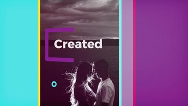 Modern Slideshow+Bonus(15 Color Transitions) Premiere Proテンプレート