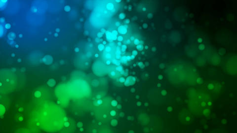 Broadcast Light Bokeh, Blue Green, Events, Loopable, 4K Animation