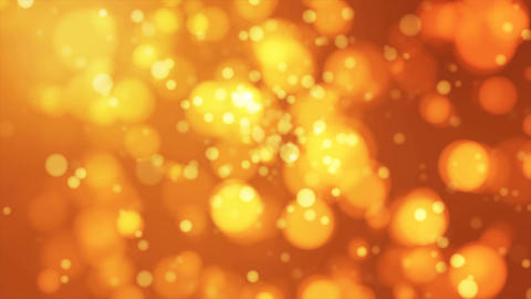 Broadcast Light Bokeh, Yellow Orange, Events, Loopable, 4K Animation