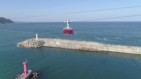 maritime cable car Footage