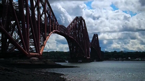 Forth Bridge, Scotland ビデオ