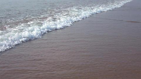 Video of ocean waves in real slow motion Footage