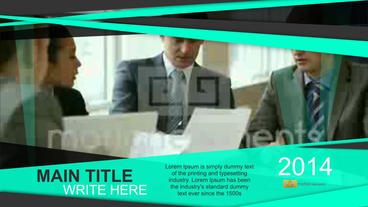 Corporate Timeline folder After Effects Templates
