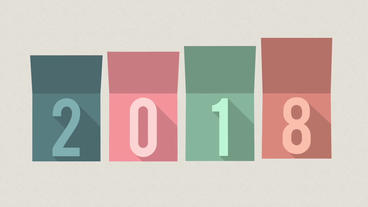 Happy New Year Minimal After Effects Template