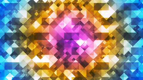 Twinkling Hi-Tech Diamond Light Patterns, Multi Color, Abstract, Loopable, 4K Animation