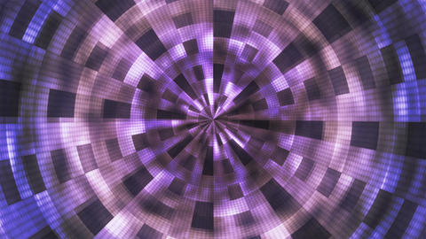 Twinkling Hi-Tech Grunge Flame Tunnel, Purple, Corporate, Loopable, 4K Animation