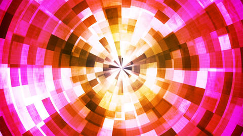 Twinkling Hi-Tech Grunge Flame Tunnel, Multi Color, Industrial, Loopable, 4K Animation