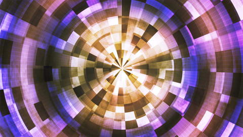 Twinkling Hi-Tech Grunge Flame Tunnel, Multi Color, Corporate, Loopable, 4K Animation