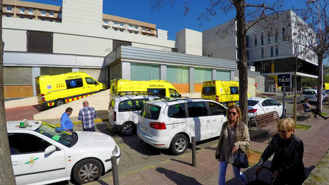 Emergency Room Ambulance Queue ビデオ