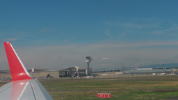A view of the apron Frankfurt Airport Footage