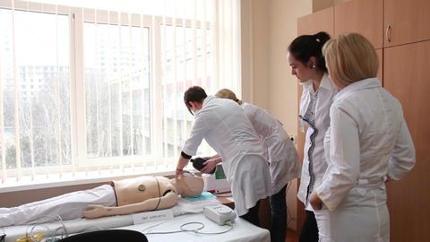 getting first medical aid - practical work internship (steadicam) Live Action
