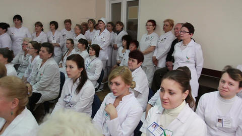 Symposium of doctors and professors of science and medicine Live Action