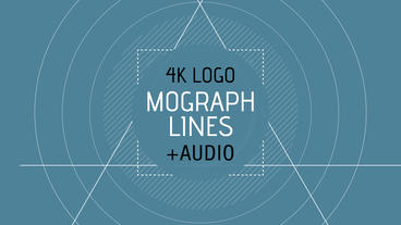 MoGraph Lines Logo Reveal After Effects Template