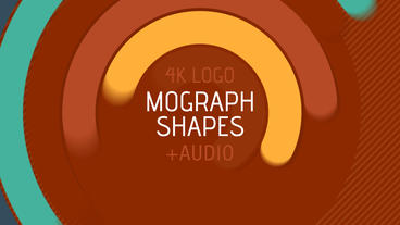MoGraph Shapes Logo Reveal After Effects Template