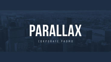 Parallax Corporate Promo After Effects Template
