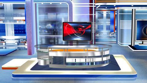 Virtual studio Newsroom C3 Live Action