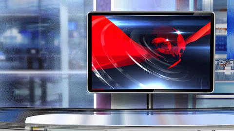 Virtual studio Newsroom C5 ライブ動画