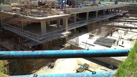 The Construction Of The Underground Part Of The Monolithic Building 1