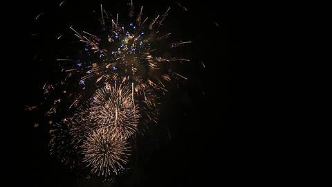 Japanese fireworks Filmmaterial