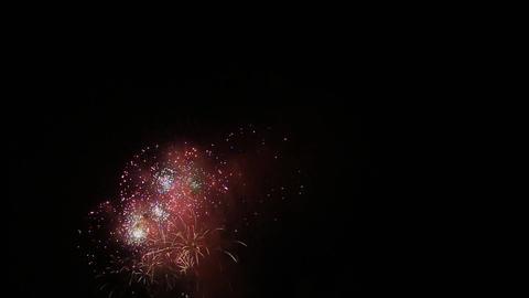 Red fireworks Live Action