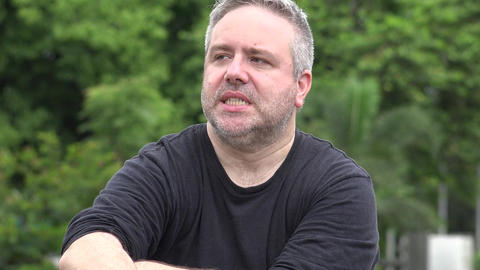 Anxious Fat Middle Aged Man Live Action
