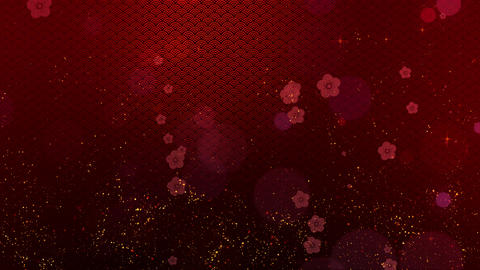 Chinese New Year background decorations Animation