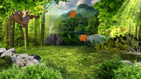 Virtual Forest Scene ライブ動画