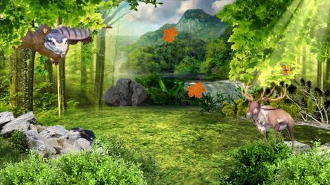 Virtual Forest Scene with animal ライブ動画