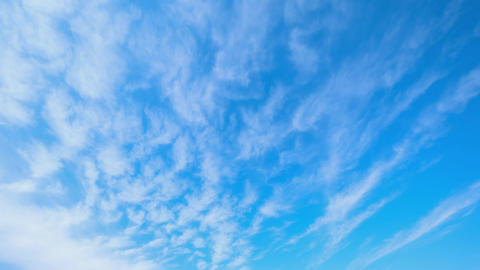 Timelapse - Autumn sky and clouds Filmmaterial