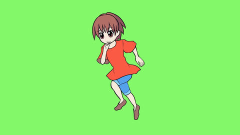 Running child 1 Animation