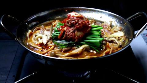 Pork With Kimchi Hot Pot Live Action