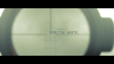 Opening Titles After Effects Template