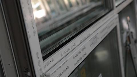 Production of plastic windows Footage