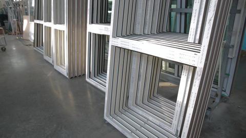 Plastic windows without double-glazed windows Footage