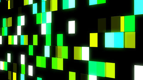 LED Light Block illumination Wall Animation