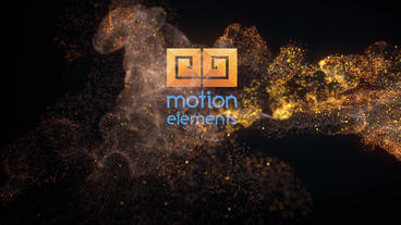 Elegant Soft Particles Logo - After Effects Template After Effectsテンプレート
