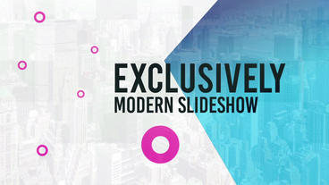 Digital Modern Slideshow After Effects Template