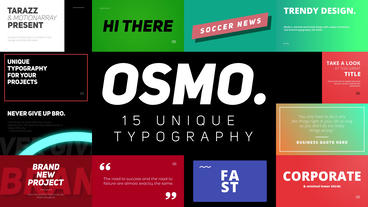Osmo Motion Graphics Template