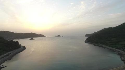 Sunrise at Geomundo Island Footage