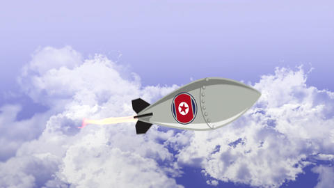 North Korean Nuclear Missile Bild