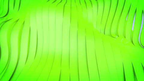Wavy band surface animation CG動画