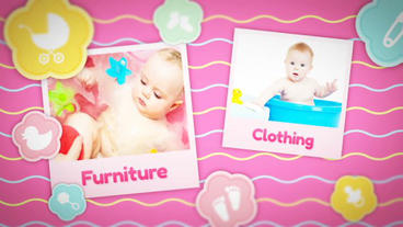 Baby Fun stock footage