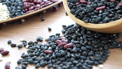 beans red black and job's tear multi-grain protein food Live Action