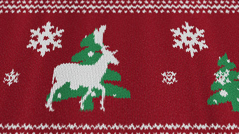 [alt video] Christmas sweater with a deer2