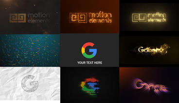 10 Logo Animation Pack After Effects Template