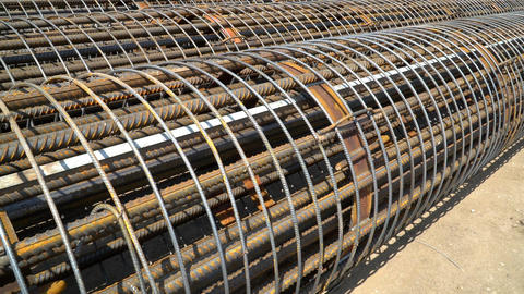 The Metal Frame Of The Reinforcing Bars. 1